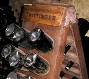 Riddling at Taittinger - Reims, France