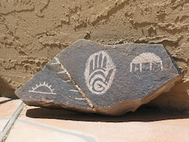 Ancient Handprint